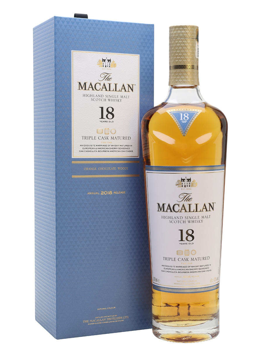 WHISKY MACALLAN 18 TRIPLE CASK