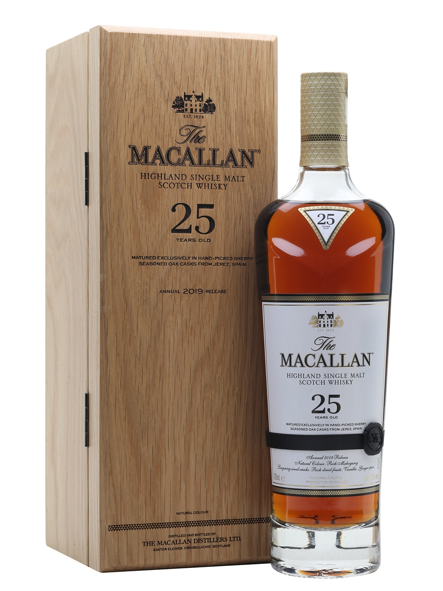 WHISKY MACALLAN 25 SHERRY OAK 2019