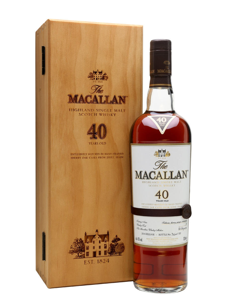 WHISKY MACALLAN 40 SHERRY