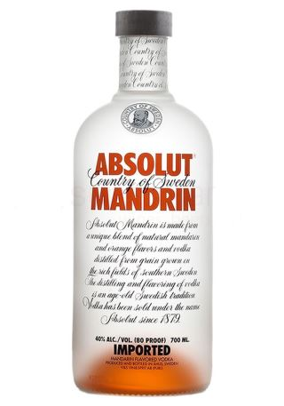 VODKA THỤY ĐIỂN ABSOLUT MANDRIN