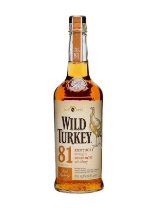 WHISKEY MỸ WILD TURKEY 81