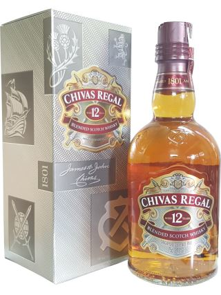 WHISKY SCOTLAND CHIVAS 12