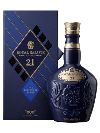 WHISKY CHIVAS 21 ROYAL SALUTE SIGNATURE BLEND