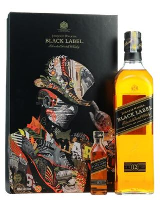 WHISKY JOHNNIE WALKER BLACK 750ML (HỘP QUÀ 2018)