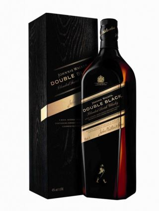 WHISKY JOHNNIE WALKER DOUBLE BLACK 1Lit