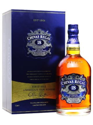 WHISKY CHIVAS 18 ULTIMATE CASK