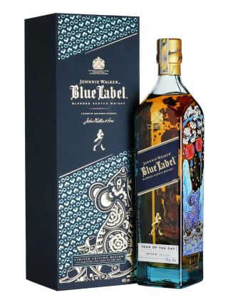 JOHNNIE WALKER BLUE LABEL YEAR OF THE RAT - TẾT 2020 CANH TÝ