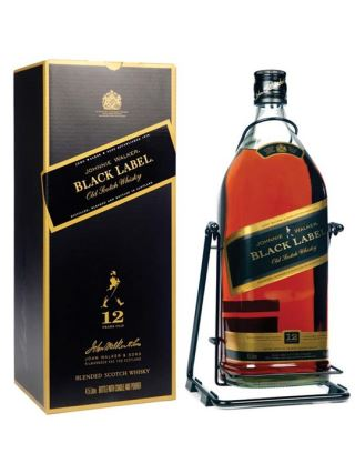 WHISKY JOHNNIE WALKER BLACK 4.5 LÍT