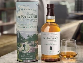 ruou balvenie the edge of burnhead wood