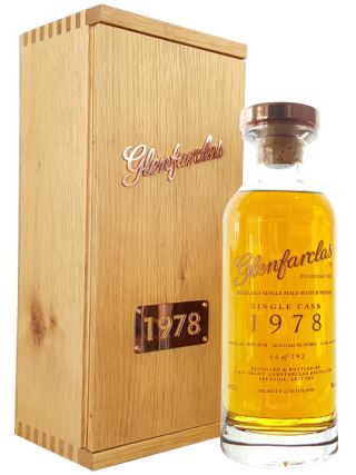WHISKY SCOTLAND GLENFARCLAS 1978 SINGLE CASK