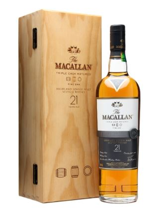 WHISKY MACALLAN 21 FINE OAK