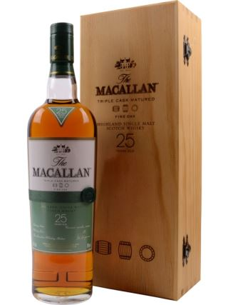 WHISKY SCOTLAND MACALLAN 25 NĂM FINE OAK