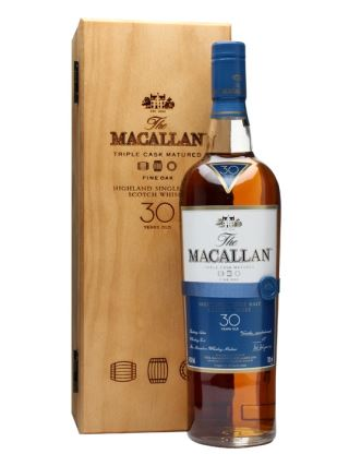 WHISKY MACALLAN 30 FINE OAK
