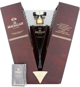 WHISKY SCOTLAND MACALLAN OSCURO