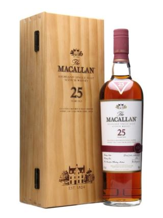 WHISKY MACALLAN 25 SHERRY OAK