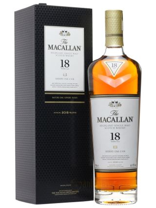 WHISKY MACALLAN 18 SHERRY OAK 2018
