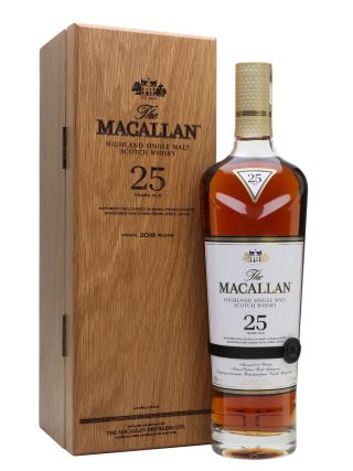 WHISKY MACALLAN 25 SHERRY OAK 2018