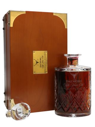 WHISKY DALMORE 50 YO DECANTER