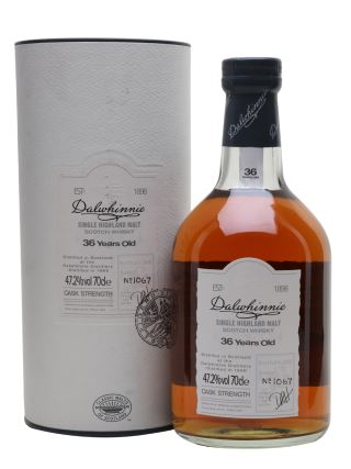 WHISKY DALWHINNIE 36 YO CASK STRENGTH