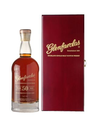 WHISKY GLENFARCLAS 50 DECANTER