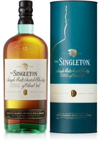 WHISKY SINGLETON 12 of GLEN ORD