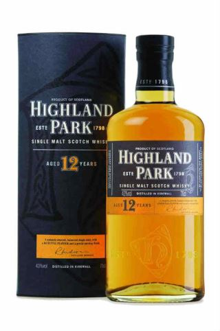 WHISKY HIGHLAND PARK 12