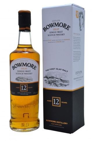 WHISKY BOWMORE 12