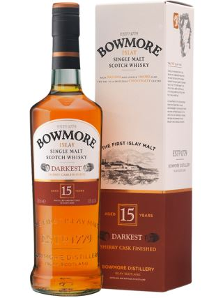 WHISKY BOWMORE 15 DARKEST