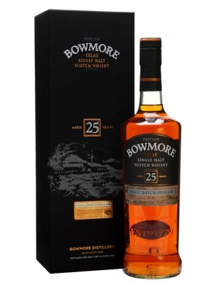WHISKY BOWMORE 25