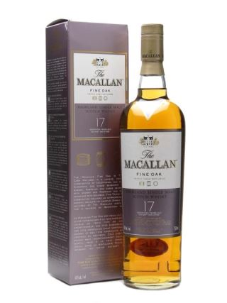 WHISKY MACALLAN 17 NĂM FINE OAK