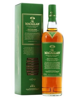 WHISKY MACALLAN EDITION NO.4