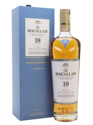 WHISKY MACALLAN 18 TRIPLE CASK 2018