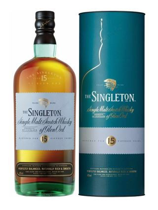 WHISKY SINGLETON 15 of GLEN ORD