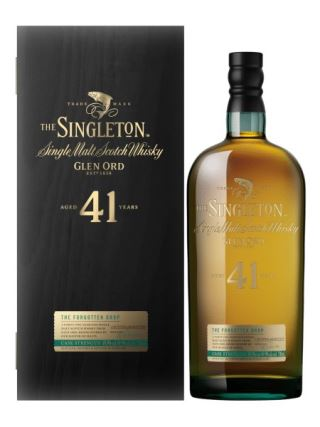 WHISKY SINGLETON 41 of GLEN ORD