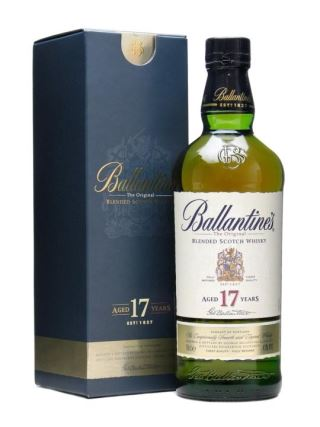 WHISKY SCOTLAND BALLANTINES 17 NĂM