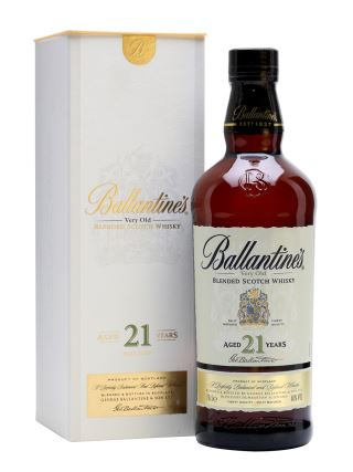 WHISKY SCOTLAND BALLANTINES 21 NĂM