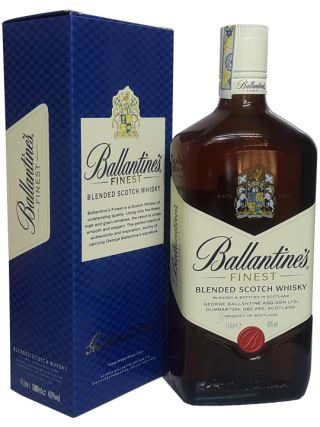 WHISKY SCOTLAND BALLANTINES FINEST (1000ml)