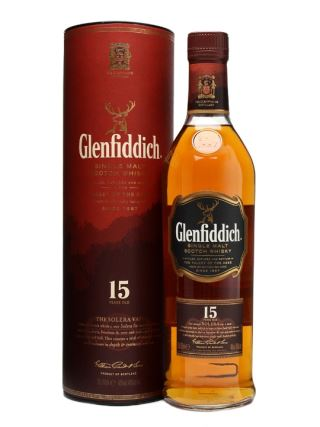 WHISKY SCOTLAND GLENFIDDICH 15 NĂM